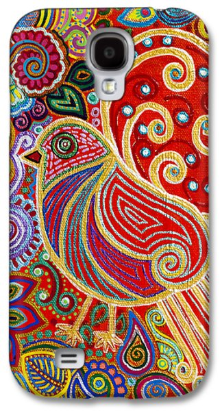Recently Sold -  - Abstract Nature Galaxy S4 Cases - The Songstress in The Spring Galaxy S4 Case by Anannya Chowdhury