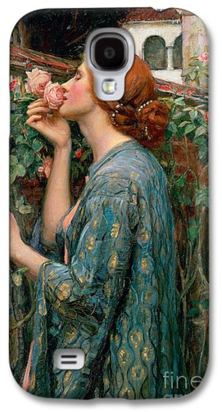 The Soul Of The Rose Galaxy S4 Case by John William Waterhouse