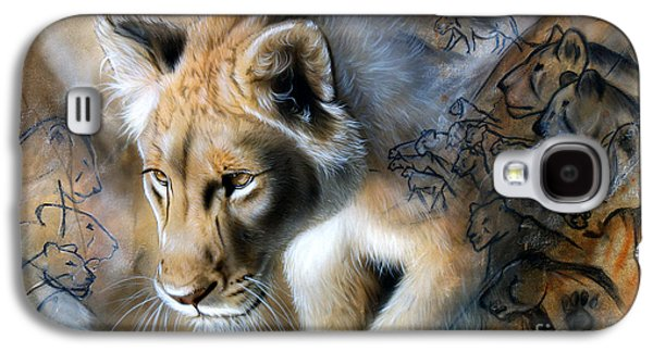 Airbrush Galaxy S4 Cases - The Source Galaxy S4 Case by Sandi Baker