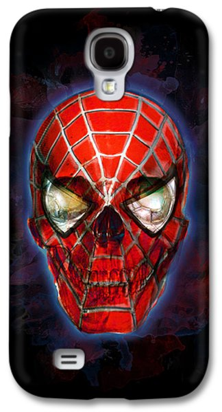 Creepy Galaxy S4 Cases - The Spider Sense Galaxy S4 Case by Ian Barefoot