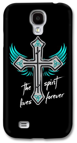 The Spirit Lives Forever II Galaxy S4 Case by Melanie Viola