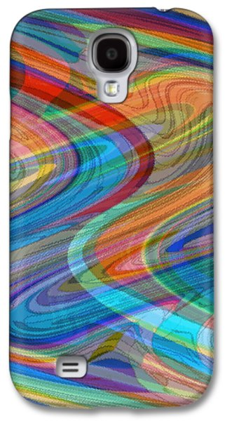 African-american Galaxy S4 Cases - The Spirit Moves Galaxy S4 Case by Elva Robinson