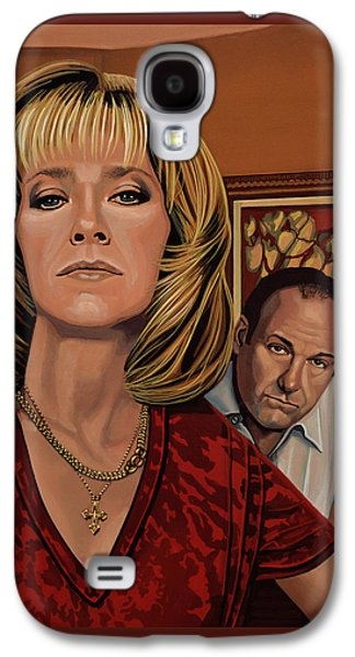 The Sopranos Painting Galaxy S4 Case by Paul Meijering