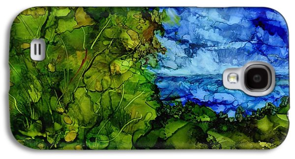 Transportation Tapestries - Textiles Galaxy S4 Cases - The Storm Galaxy S4 Case by Eunice Warfel
