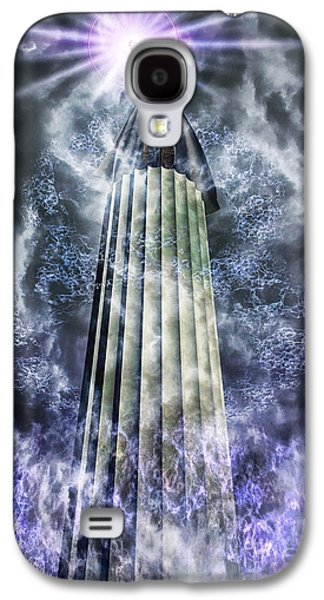 Lore Galaxy S4 Cases - The Stormbringer Galaxy S4 Case by John Edwards