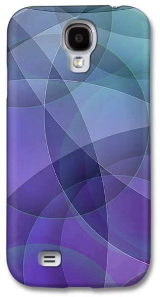 Abstracts Galaxy S4 Cases - The Structure of Insight Galaxy S4 Case by Susan Maxwell Schmidt
