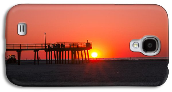 Crest Digital Art Galaxy S4 Cases - The Sunrise - Wildwood Crest Galaxy S4 Case by Bill Cannon