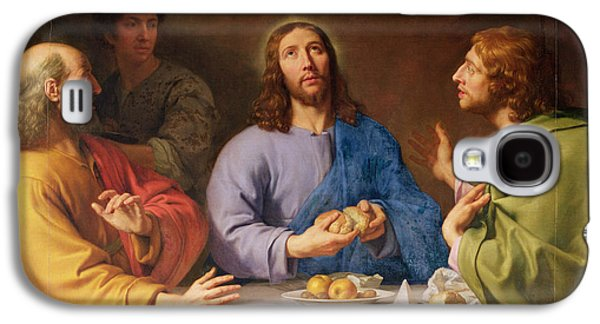 The Supper At Emmaus Galaxy S4 Case by Philippe de Champaigne