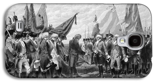 George Washington Galaxy S4 Cases - The Surrender Of Cornwallis At Yorktown Galaxy S4 Case by War Is Hell Store