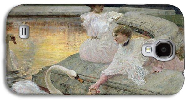 The Swans Galaxy S4 Case by Joseph Marius Avy