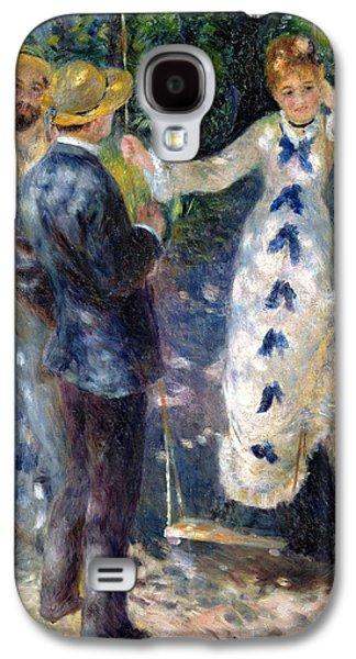 The Swing Galaxy S4 Case by Pierre Auguste Renoir