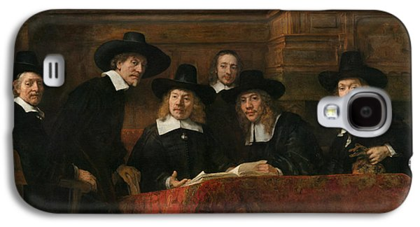 The Syndics Of The Amsterdam Drapers' Guild Galaxy S4 Case by Rembrandt