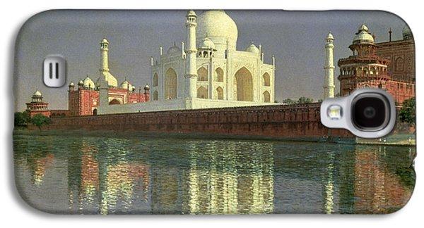 The Taj Mahal Galaxy S4 Case by Vasili Vasilievich Vereshchagin