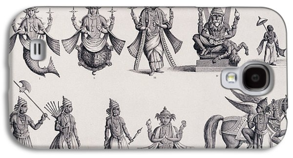 The Ten Avatars Or Incarnations Of Vishnu Galaxy S4 Case by English School