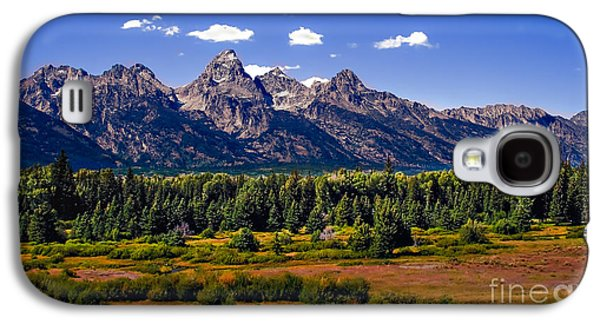 Best Sellers -  - Haybale Galaxy S4 Cases - The Tetons II Galaxy S4 Case by Robert Bales
