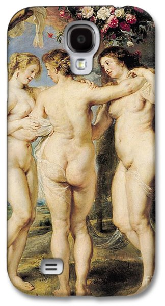 The Three Graces Galaxy S4 Case by Peter Paul Rubens