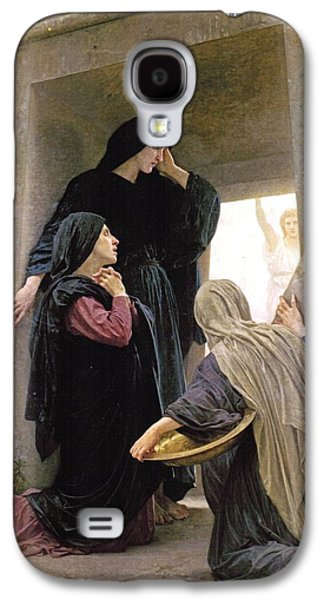 Christina Digital Galaxy S4 Cases - The Three Marys At The Tomb Galaxy S4 Case by William Bouguereau