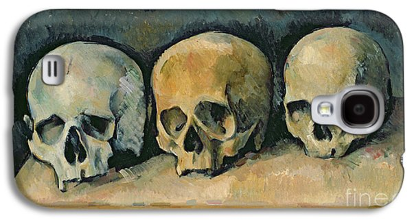 The Three Skulls Galaxy S4 Case by Paul Cezanne