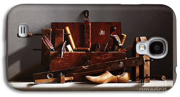Hammer Paintings Galaxy S4 Cases - The Tool Box Galaxy S4 Case by Larry Preston
