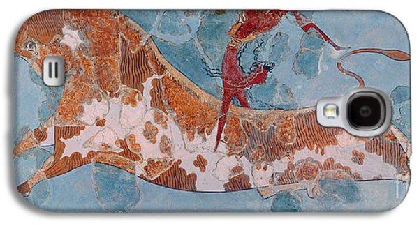 The Toreador Fresco, Knossos Palace, Crete Galaxy S4 Case by Greek School