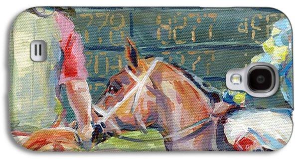 Jockeys Galaxy S4 Cases - The Tote Board Galaxy S4 Case by Kimberly Santini
