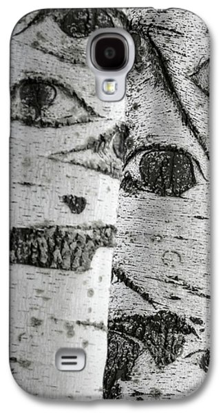 The Trees Have Eyes Galaxy S4 Case by Wim Lanclus