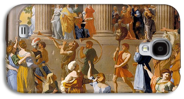 Cheer On Galaxy S4 Cases - The Triumph of David Galaxy S4 Case by Nicolas Poussin