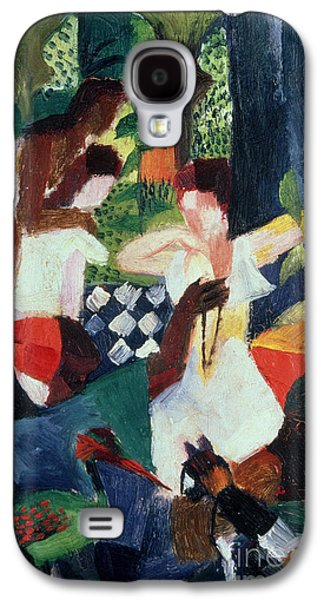 Commerce Galaxy S4 Cases - The Turkish Jeweller  Galaxy S4 Case by August Macke