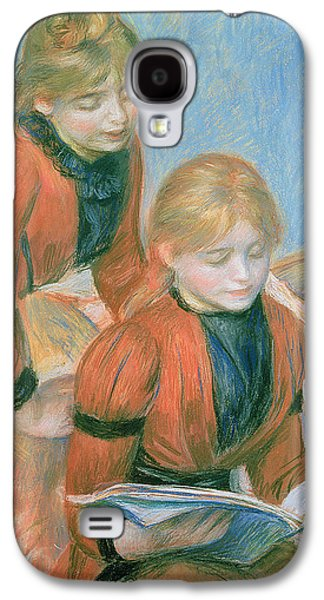 The Two Sisters Galaxy S4 Case by Pierre Auguste Renoir