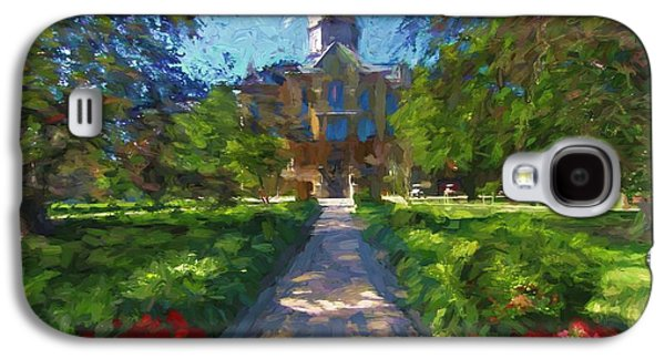 The University Of Notre Dame Galaxy S4 Case by Dan Sproul