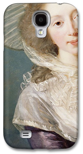 Aristocrat Galaxy S4 Cases - The Vicomtesse de Vaudreuil Galaxy S4 Case by Elisabeth Louise Vigee-Lebrun