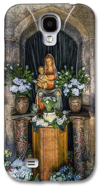 The Virgin And Child  Galaxy S4 Case by Ian Mitchell