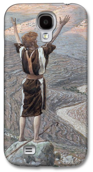Baptist Paintings Galaxy S4 Cases - The Voice in the Desert Galaxy S4 Case by Tissot