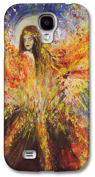 The Volcano Goddess Galaxy S4 Case by Solveig Katrin