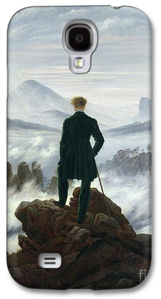 The Wanderer Above The Sea Of Fog Galaxy S4 Case by Caspar David Friedrich