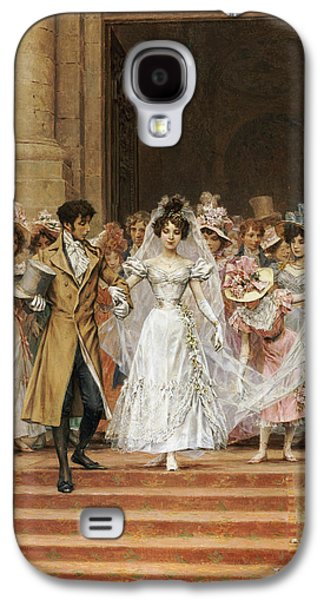 Groom Galaxy S4 Cases - The Wedding Galaxy S4 Case by Frederik Hendrik Kaemmerer
