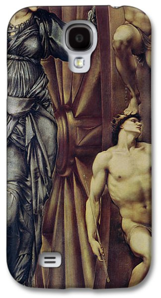 The Wheel Of Fortune Galaxy S4 Case by Sir Edward Burne Jones