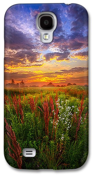 Sun Galaxy S4 Cases - The Whispered Voice Within Galaxy S4 Case by Phil Koch