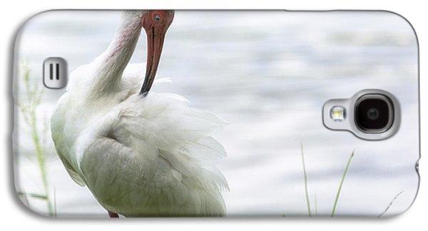 The White Ibis  Galaxy S4 Case by Saija  Lehtonen