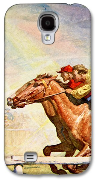 The Winning Post Galaxy S4 Case by Newell Convers Wyeth