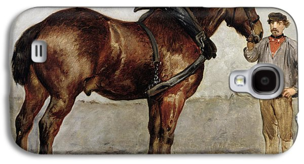 Owner Galaxy S4 Cases - The Work Horse Galaxy S4 Case by Otto Bache