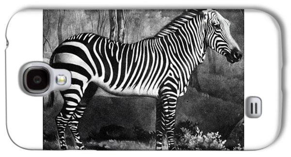 The Zebra Galaxy S4 Case by George Stubbs