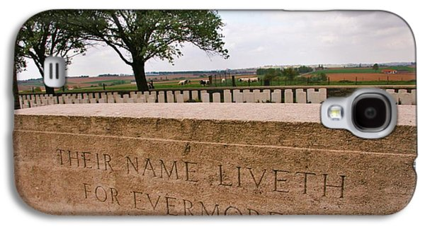 Galaxy S4 Case featuring the photograph Their Name Liveth For Evermore by Travel Pics