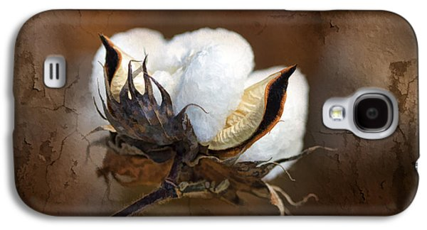 Grunge Galaxy S4 Cases - Them Cotton Bolls Galaxy S4 Case by Kathy Clark