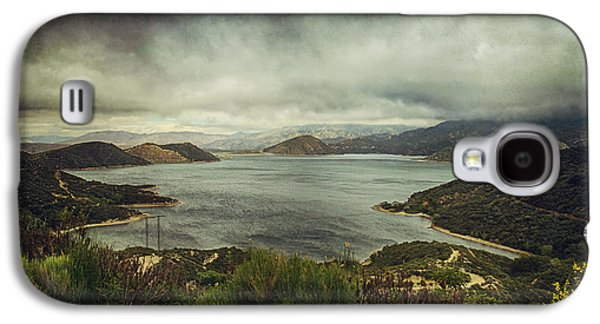 Storm Digital Galaxy S4 Cases - Theres a Storm Brewing Galaxy S4 Case by Laurie Search