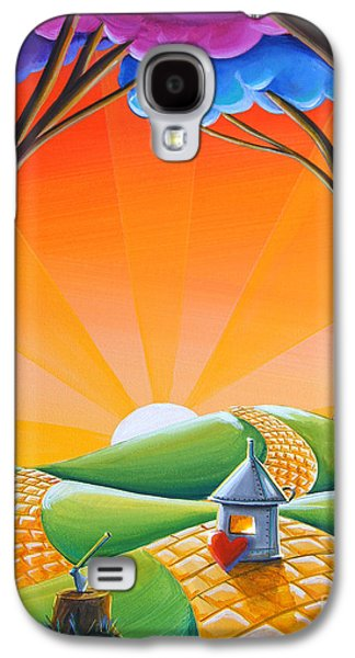 Dreamscape Galaxy S4 Cases - Theres No Place Like Home Galaxy S4 Case by Cindy Thornton