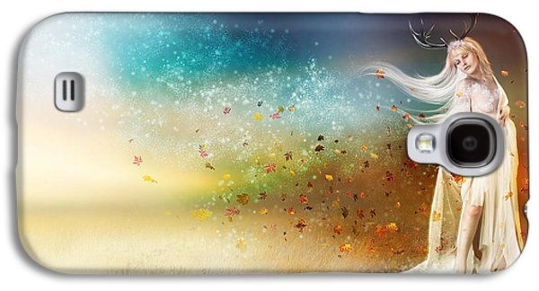 Chill Galaxy S4 Cases - They call me Winter Galaxy S4 Case by Karen H