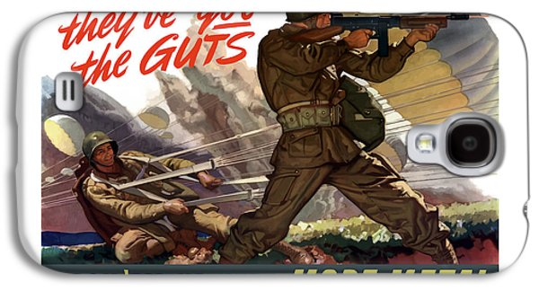 They've Got The Guts Galaxy S4 Case by War Is Hell Store