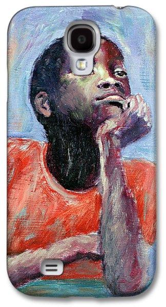 Thinking Galaxy S4 Case by Carlton Murrell