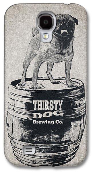 Thirsty Dog Brewing Co. Keg Galaxy S4 Case by Edward Fielding